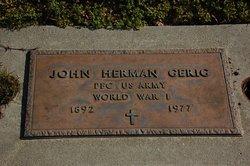 John Herman Gerig