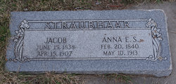 Anna Elizabeth <i>Strahm</i> Straubhaar