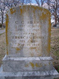 Frances Emmaline <i>Blakemore</i> Adams