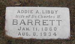 Addie A <i>Libby</i> Barrett