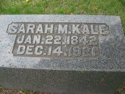 Sarah Martha <i>Rowland</i> Kale