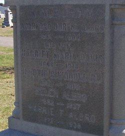 Harriet Maria <i>Davis</i> Albro