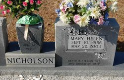 Mary Helen Nicholson