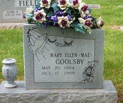 Mary Ellen Mae <i>Bush</i> Goolsby