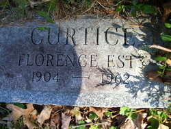 Florence May <i>Esty</i> Curtice