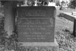 Fannie <i>Townsend</i> Evans
