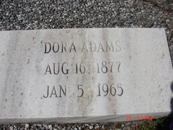 Dora Adams