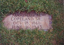 Augustus M Copeland, Sr