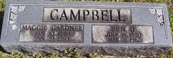 Maggie <i>Gardner</i> Campbell