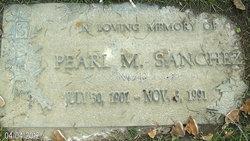 Pearl M Sanchez