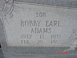 Bobby Earl Adams