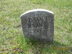 Vivian E Evans