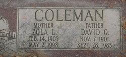 David G. Coleman
