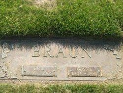 Augusta Gussie <i>Rehbein</i> Braun