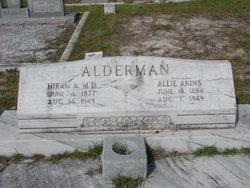 Allie <i>Akins</i> Alderman