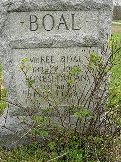 Agnes <i>Dugan</i> Boal
