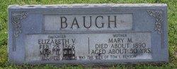 Elizabeth V <i>Baugh</i> Benson