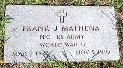 Frank J Bud Mathena