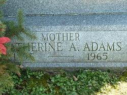 Catherine A Adams