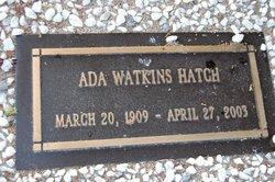 Ada Watkins Hatch