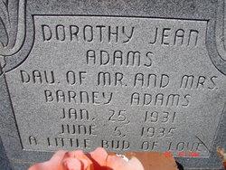 Dorothy Jean Adams