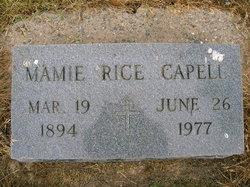 Mamie <i>Rice</i> Capell