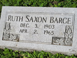 Ruth <i>Saxon</i> Barge
