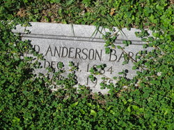 Fred Anderson Barge, Sr