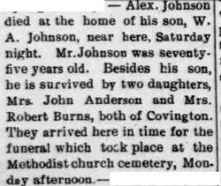 John Alexander Johnson