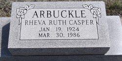 Rheva Ruth <i>Casper</i> Arbuckle