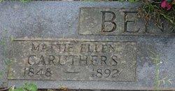 Mattie Ellen <i>Caruthers</i> Bennett