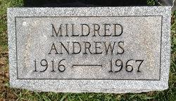 Mildred <i>Dalrymple</i> Andrews