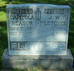 Capitola Black <i>Reasor</i> Fletcher