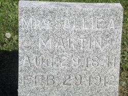 Sarah A. Sallie <i>Stephens</i> Martin