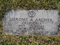Jerome Adolphus Archer