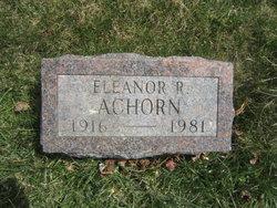 Eleanor Ruth <i>Sylvester</i> Achorn