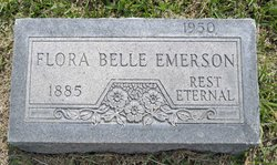 Flora Belle <i>Yandell</i> Emerson