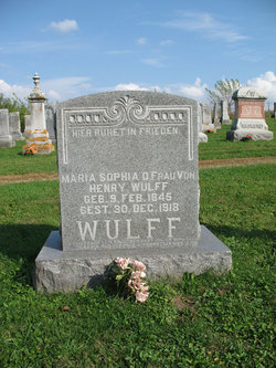 Maria Sophia <i>Schumacher</i> Wulff