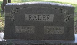 Mary Ann Rader
