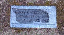 Dr Henry S Atkinson