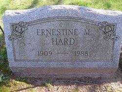 Ernestine M <i>Hard</i> B