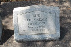 Leola <i>Bosarge</i> Adams