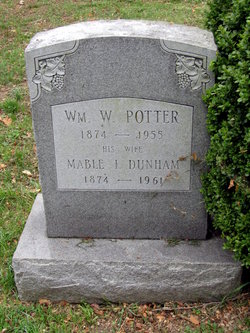 Mabel I <i>Dunham</i> Potter