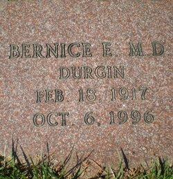 Bernice E <i>Durgin</i> Flegal