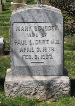 Mary Reeder <i>Scudder</i> Cort