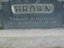 Thelma Rich <i>Morgan</i> Brown