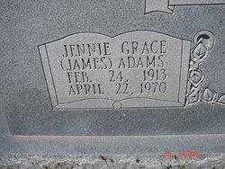 Jennie Grace <i>James</i> Adams