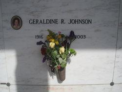 Geraldine Gerry <i>Rance</i> Johnson