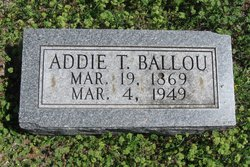 Addie T. Ballou