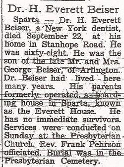 H. Everett Beiser